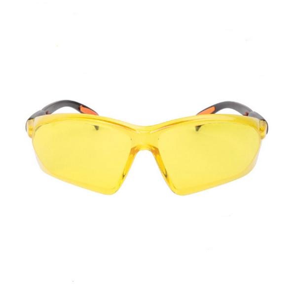 Gula Lins Justerbara Armar Safety Glasögon