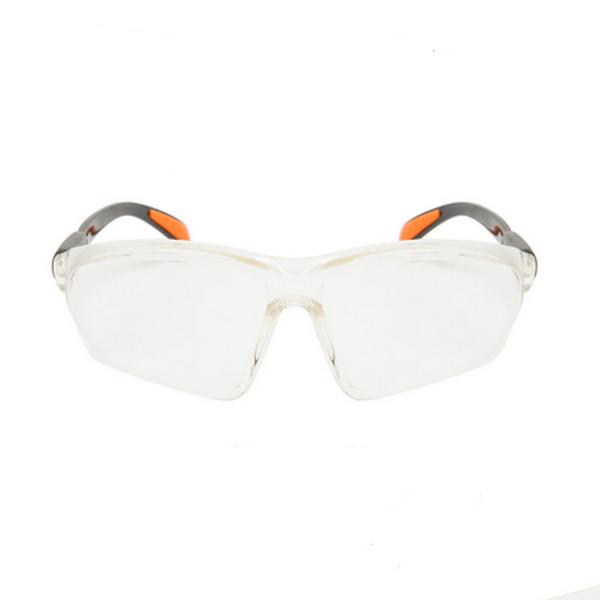 Klar Lins Justerbara Armar Safety Glasögon