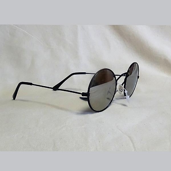 Svarta ram skugga lins John Lennon inspirerade Solglasögon