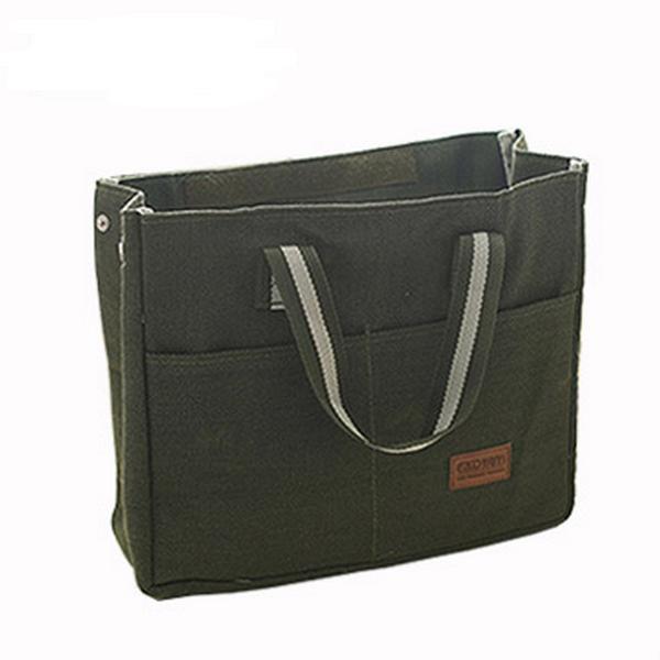 Gröna kyl isolerad lunch väska