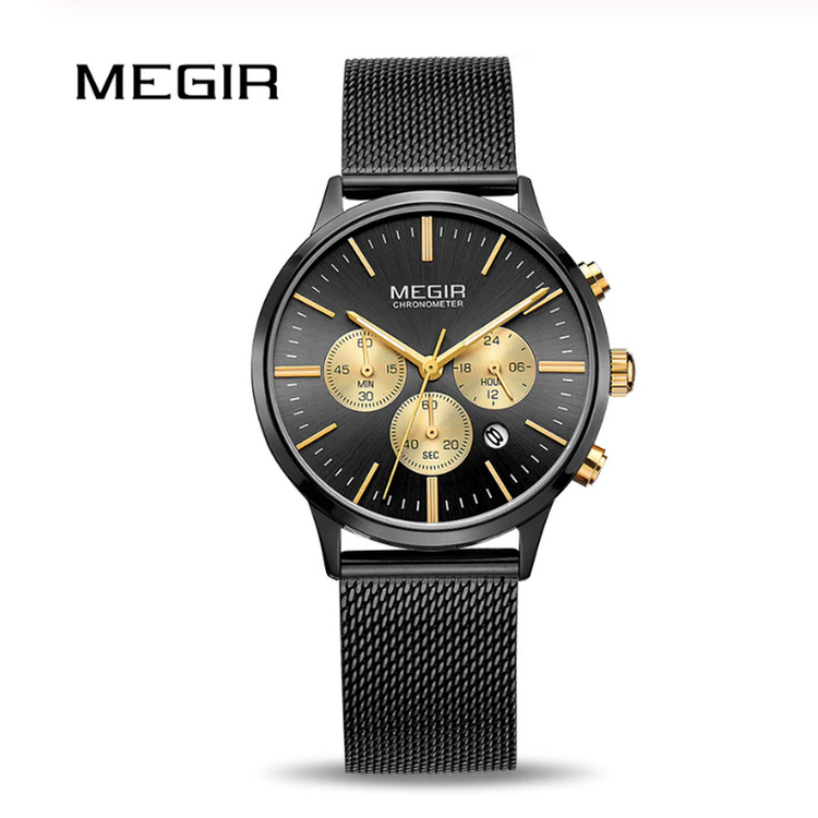 Megir Chronograph Luxury fashion