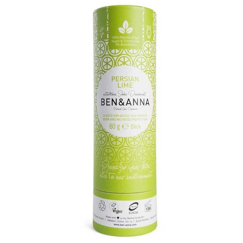 Ben & Anna, Persian lime, deodorantstift