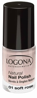 Logona Nagellack Soft Rose No 01