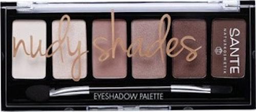 Ögonskugga palett - nudy shades