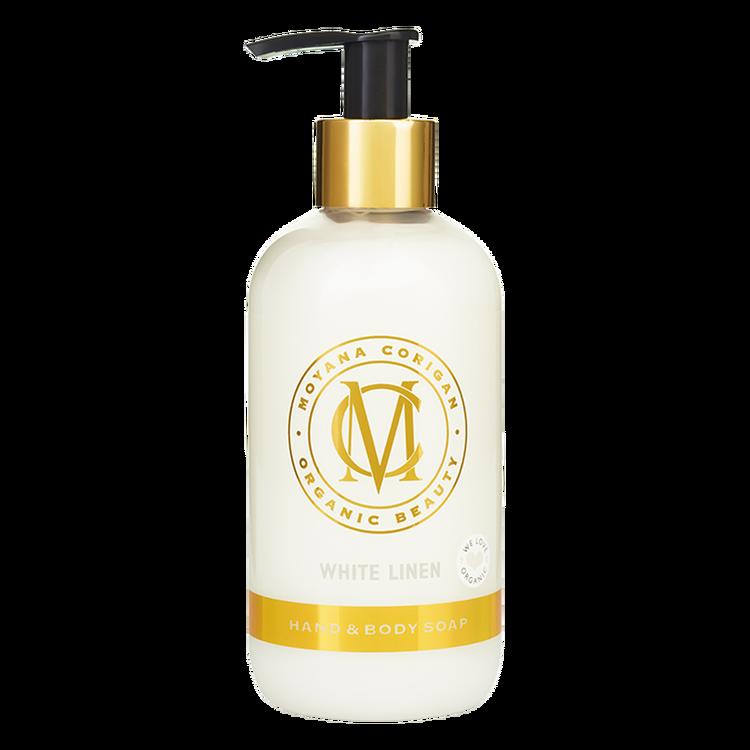 Moyana Corigan Hand & Body Soap, White Linen