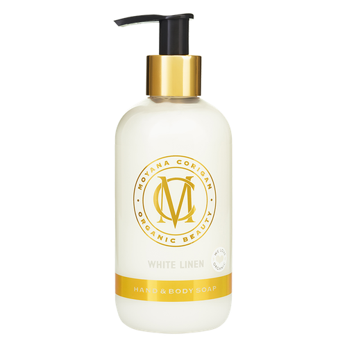 Moyana Corigan Hand & Body Soap, White Linen