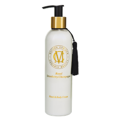Moyana Corigan Royal Hand & Body Créme, Strawberry Champagne