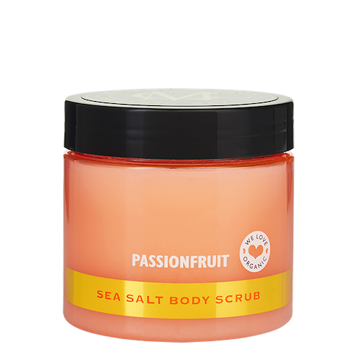 Moyana Corigan Sea Salt Body Scrub, Passionfruit