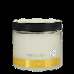 Moyana Corigan Sea Salt Body Scrub, White Linen