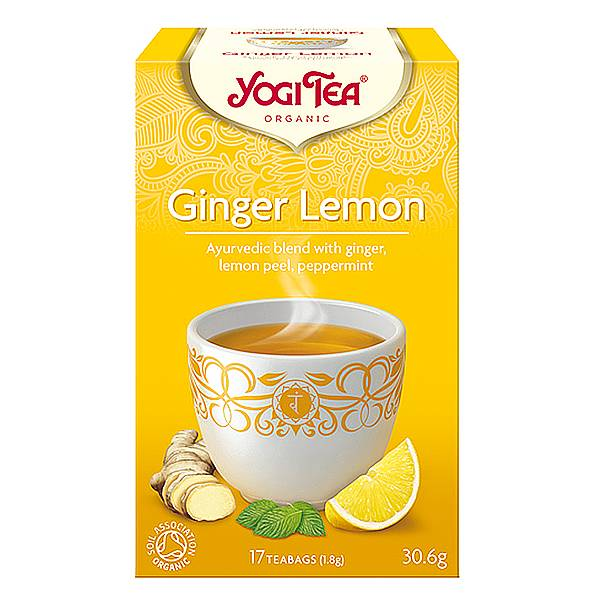 Yogi Tea- Ginger Lemon