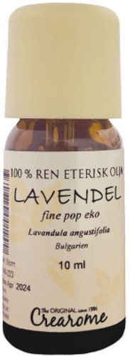 Crearome- lavendel eterisk olja 10ml