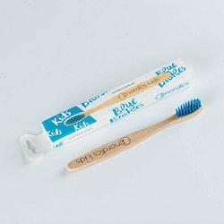 Tandborste i bambu gör barn (blå) - Nordics