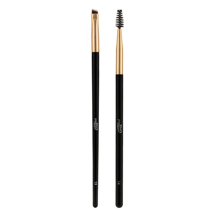 Purobio- Browmade brushes kit 13+14