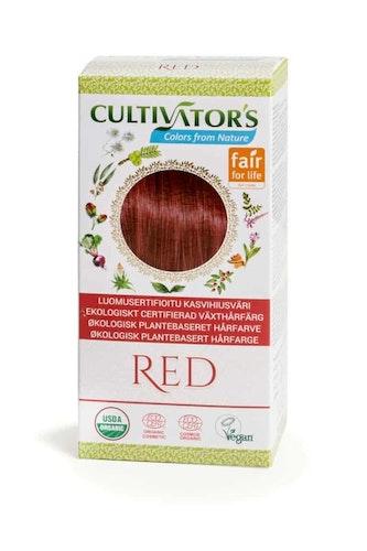 Cultivator´s ekologiskt certifierad växthårfärg – Red