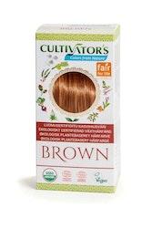 Cultivator´s ekologiskt certifierad växthårfärg – Brown