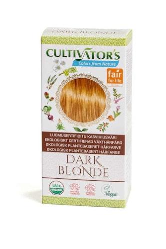Cultivator´s ekologiskt certifierad växthårfärg – Dark Blonde