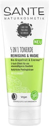 Sante- 5in1 Clay Cleanser & Mask eko grapefruit & evermat