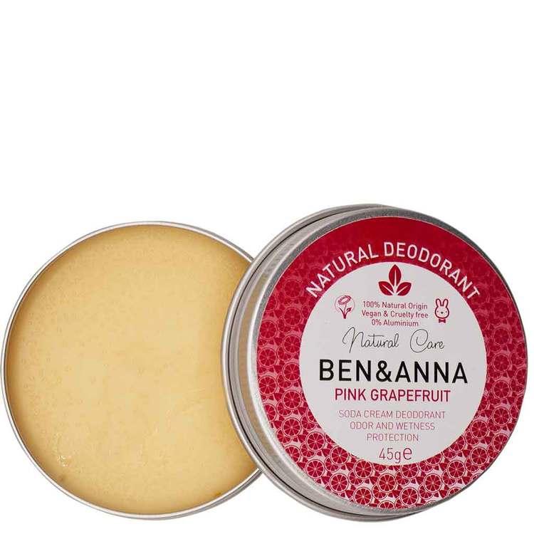 BEN & ANNA DEODORANT PINK GRAPEFRUIT METALL JAR 45G