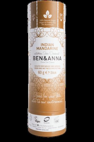 BEN & ANNA DEODORANT INDIAN MANDARINE - PAPERTUBE