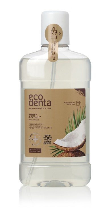 Ecodenta Minty Coconut Mouthwash