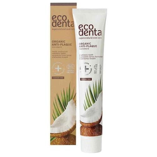 Ecodenta Anti-plaque toothpaste 75ml Organic