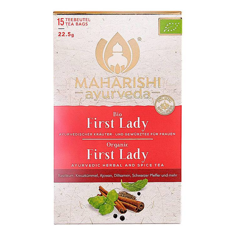 Maharishi Ayurveda- First Lady te