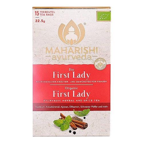Maharishi Ayurveda- First Lady te