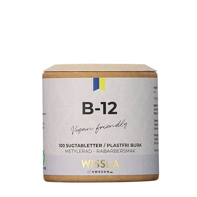 Wissla- Vitamin B12 med rabarber