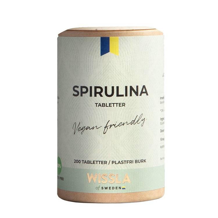 Wissla- Spirulinatabletter