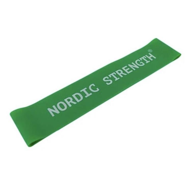 Gummiband till träning Nordic Strength - Grön & Mellan
