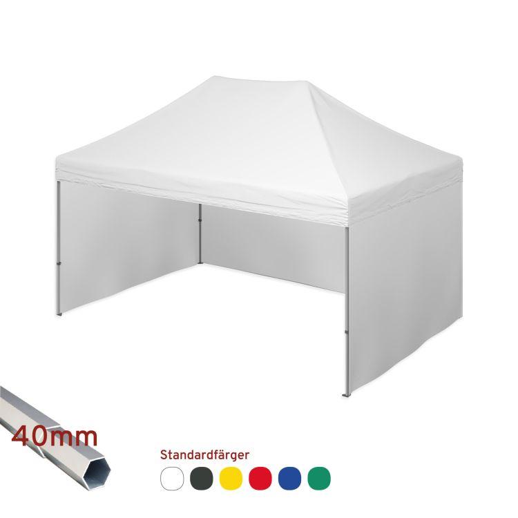 Eventtält inkl. enfärgat tak - 4x6m