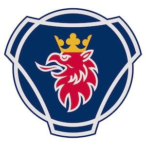 Scania logo - sköld