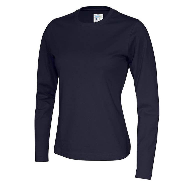 CottoVer T-Shirt Long Sleeve - Dam