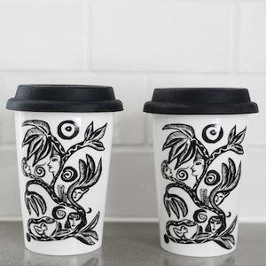 Kosta Linnewäfveri Keramikmugg Paradise 2-pack