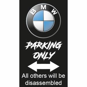 BMW Parkeringsskylt