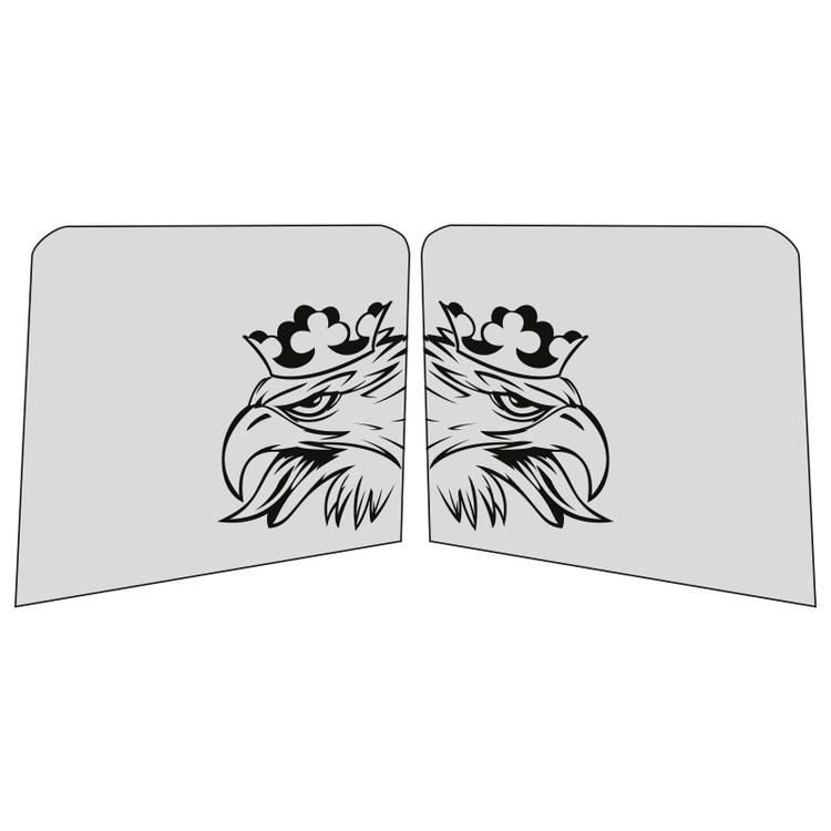 Sidorutsdekal - Örn - Version 2