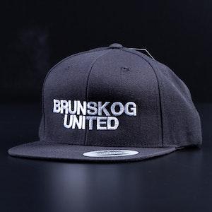 Keps - Flat Snapback - Brunskog United