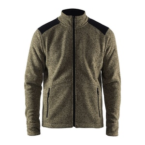 Craft Noble Zip Jacket Heavy Knit Fleece - Herr