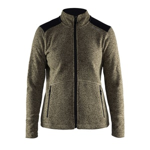 Craft Noble Zip Jacket Heavy Knit Fleece - Dam