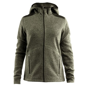 Craft Noble Hood Jacket Fleece - Dam