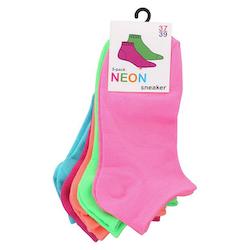 Neonsocka Sneaker 5- pack