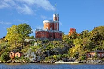 Quiz Walk Skeppsholmen: Från Nationalmuseum till af Chapman