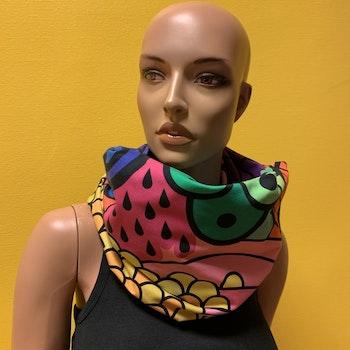 Infinity scarf Olika mönster