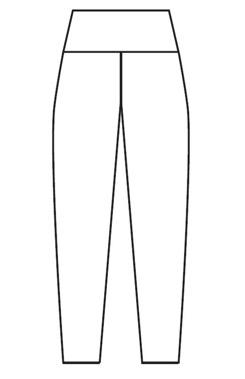 Koi Brown leggings