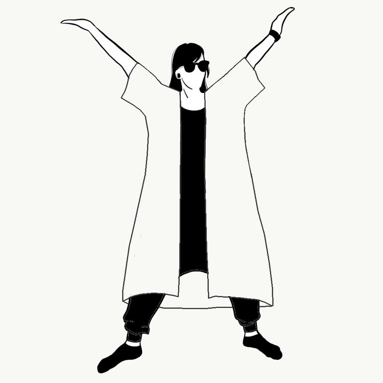 Kimono/Kaftan Valfritt tyg