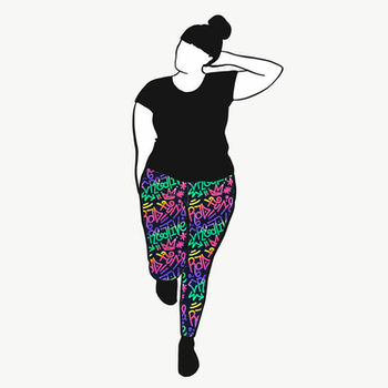 Rad, Fun & Creative leggings