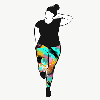 Paint leggings