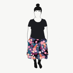 Flowers kjol