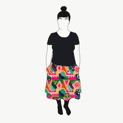 Abstract kjol