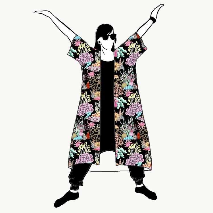 Havet Kimono/Kaftan